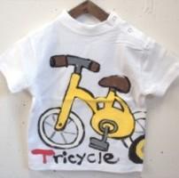 自転車トドラーの手描き