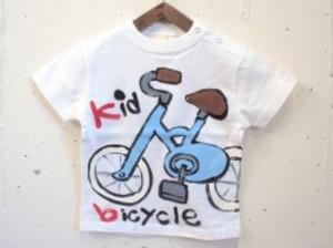 自転車キッズの手描き