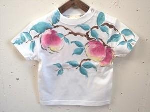 桃の手描き