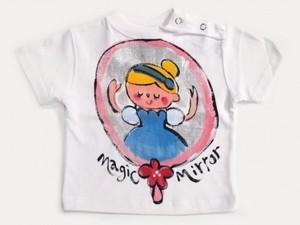 Magic mirror シンデレラの手描き