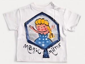 Magic mirror ゆきの女王の手描き