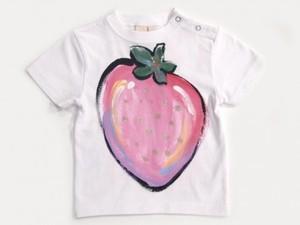 ジューシーフルーツ いちごの手描き