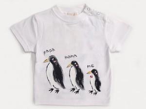 ペンギンFamilyの手描き