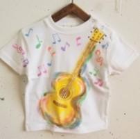 ギター音符の手描き