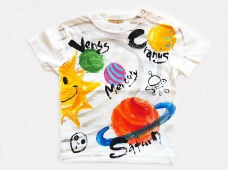 土星の手描き