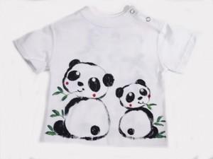 笹パンダの手描き