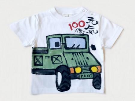 パワフルアーミー車の手描き