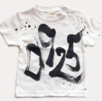ナンバーTシャツの手描き