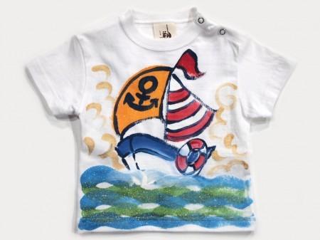 ヨット部の手描き
