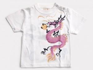 蓮龍の手描きTシャツ