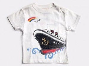 船の手描き