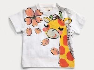 薫るんきりんの手描きTシャツ
