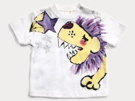 星に願いをの手描きTシャツ
