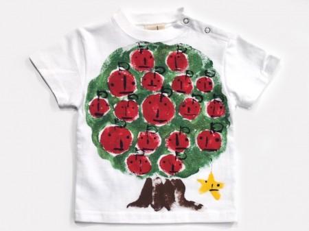 リンゴの木の手描き